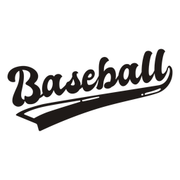 Baseball quote lettering