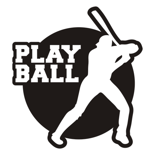 Play ball quote cut out
