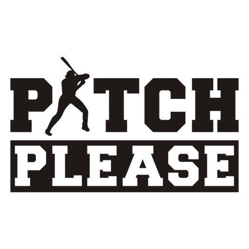 Pitch please quote cut out