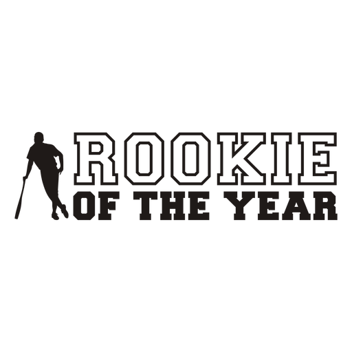 Rookie of the year quote filled stroke
