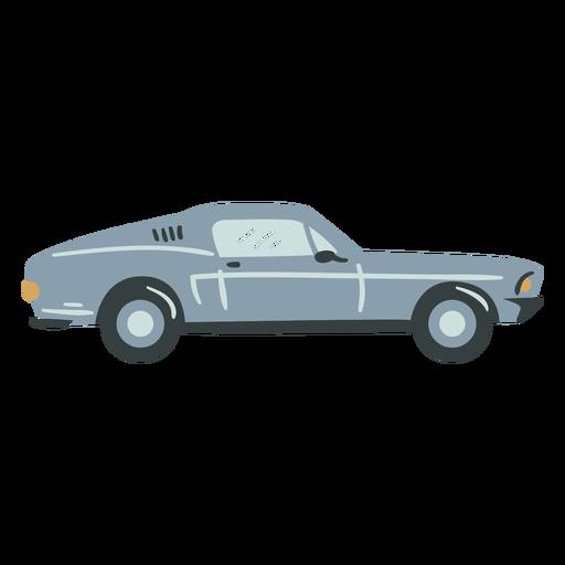 Race car semi flat