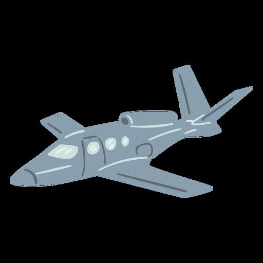 Jet plane semi flat