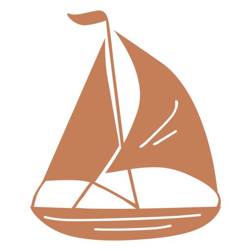 Sail boat cut out