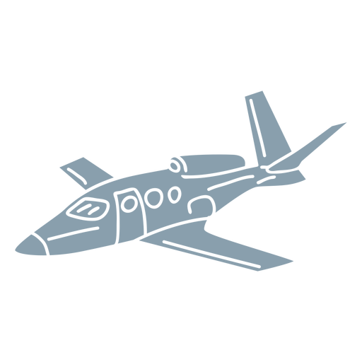 Jet plane cut out