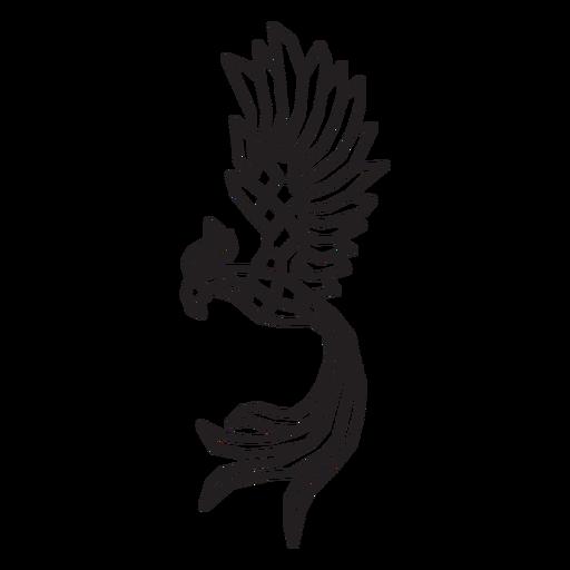 Fenix bird polygonal