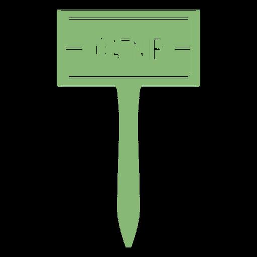 Catnip sign cut out