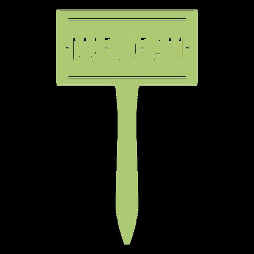 Marjoram sign cut out
