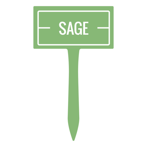 Sage sign cut out