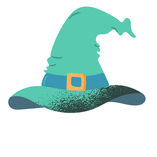 Witch hat textured