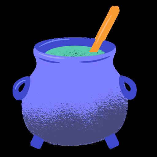 Halloween pot textured