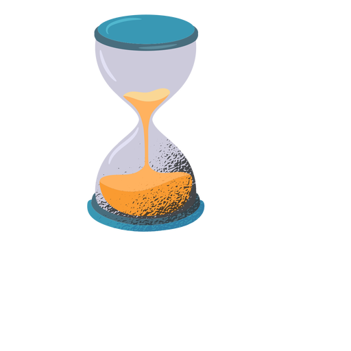 Hourglass textured