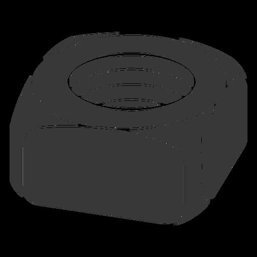 GarageOrganization-FastenerIcons-DetailedSIlhouettes - 14