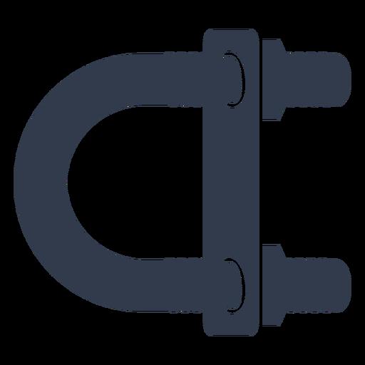 U-bolt screw cut out