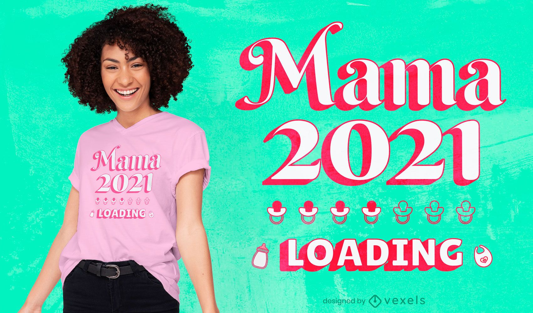 Mother's day 2021 t-shirt design