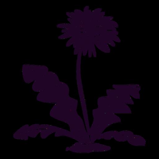Wild flower cut out