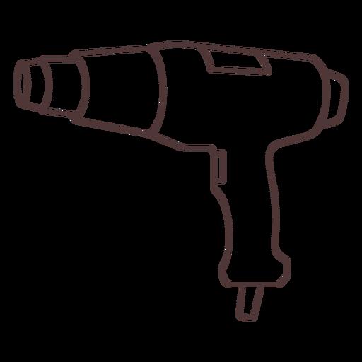 Drill tool stroke