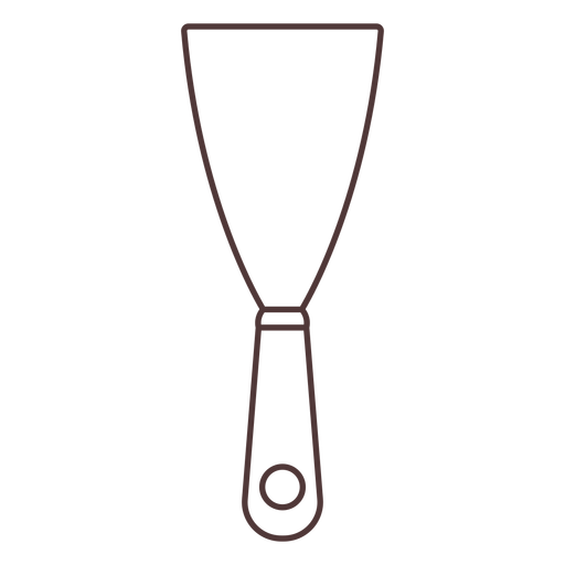 Garden spatula stroke