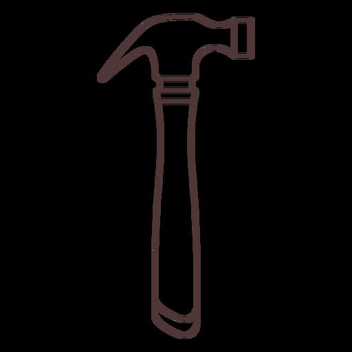 Common hammer stroke