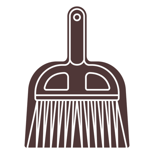 Shovel and brush cut out