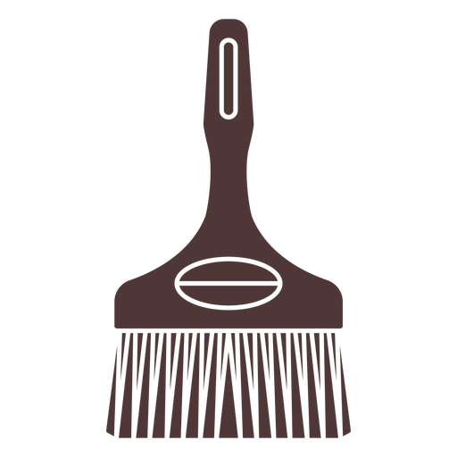 Cleaning brush cut out