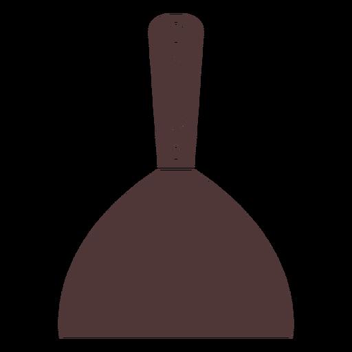 Painter spatula cut out