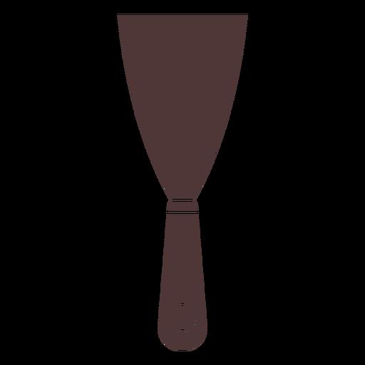 Small painter spatula cut out