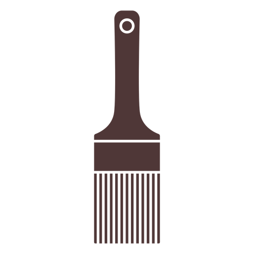 Painter's brush cut out