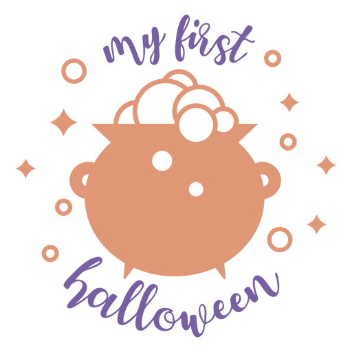 My first halloween quote lettering