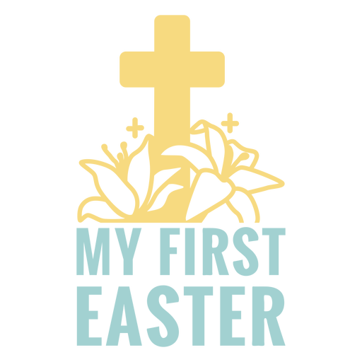 First easter holiday badge