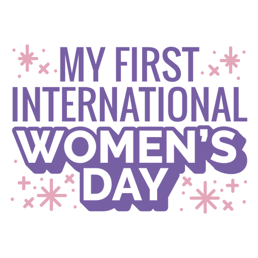 My first international women's day quote flat