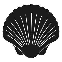 Sea shell cut out