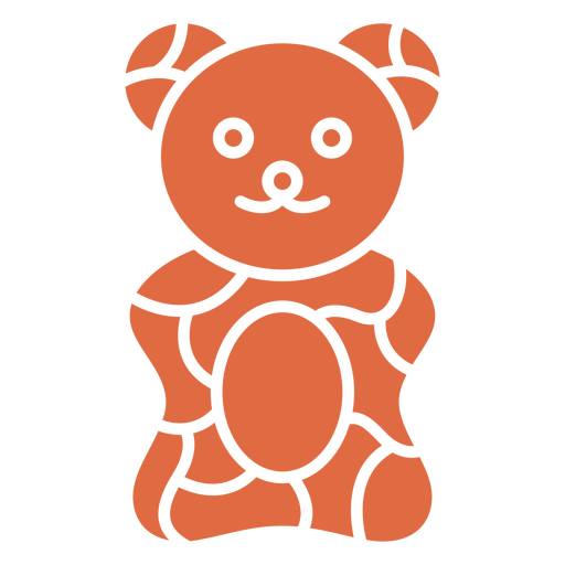 Gummy bears cut out