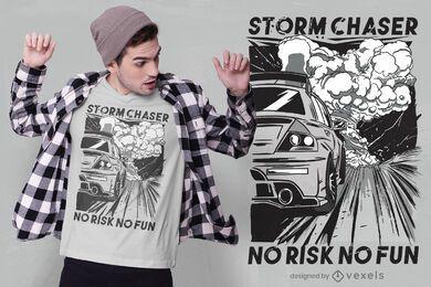 Design de camiseta de corrida