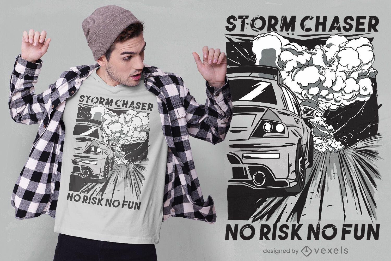 Racing quote t-shirt design