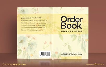 Order book business book cover design