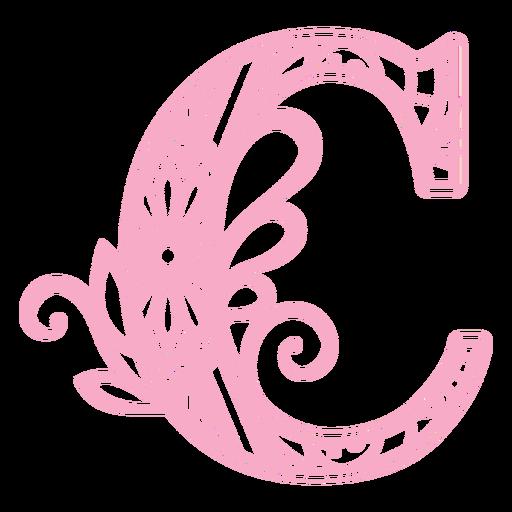 Mandala Monogramas Femenino Remolino - 35