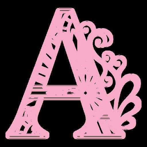 Mandala Monogramas Femenino Remolino - 36