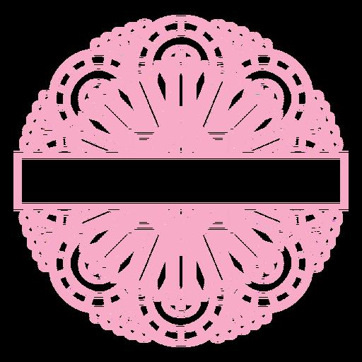 Mandala Monogramas Redemoinho feminino - 37