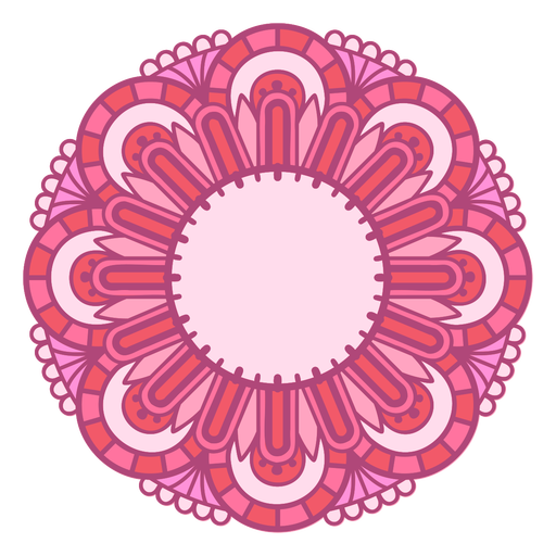 Mandala Monogramas Redemoinho feminino - 79