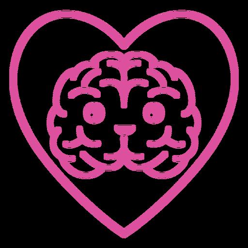 Brain in heart stroke