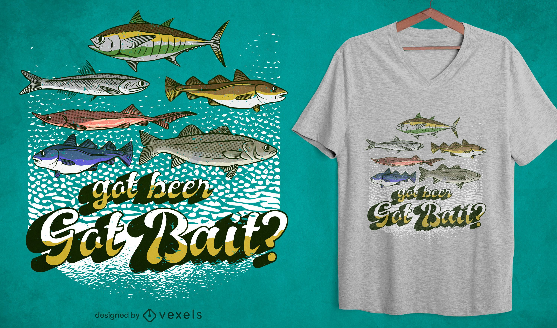 Got bait fishing quote t-shirt design
