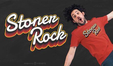 Diseño de camiseta Stoner rock