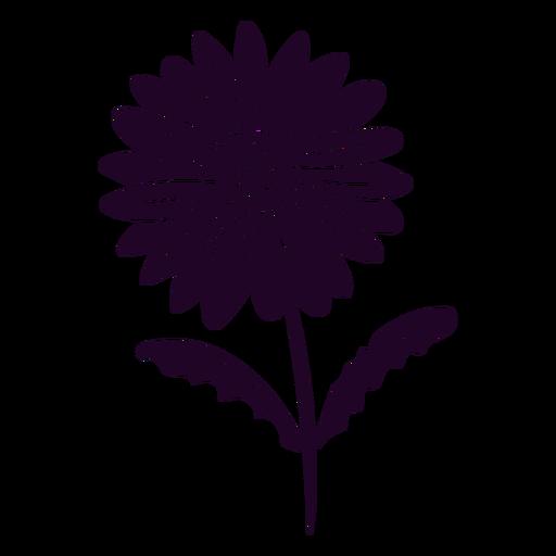 Cute daisy flower cut out