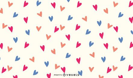 WALLPAPER HEART FREE VECTOR