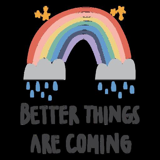 Rainy quote flat