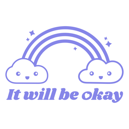 It will be okay quote filled stroke