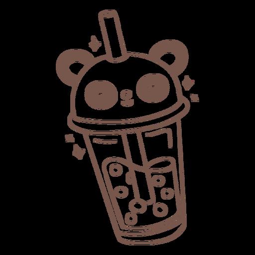 Bebidas-BobaTeaAnimales-GradientKawaii-Stroke-CR - 9