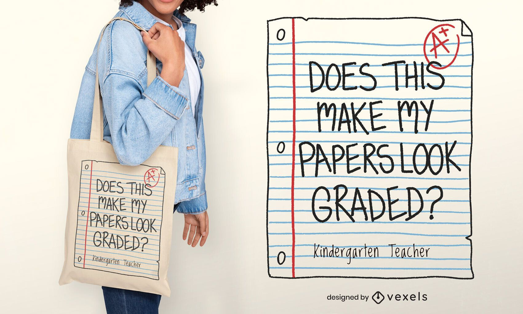 Sortierte Papiertasche Design