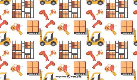 Warehouse elements pattern design