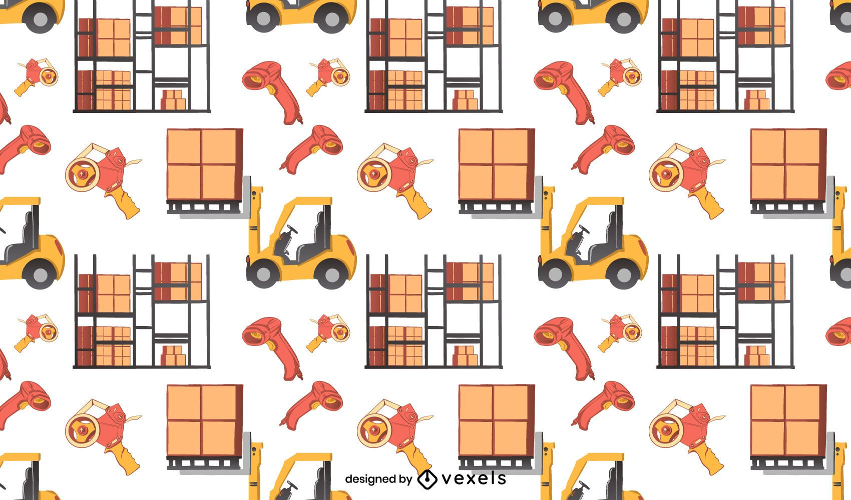 Diseño de patrón de elementos de almacén